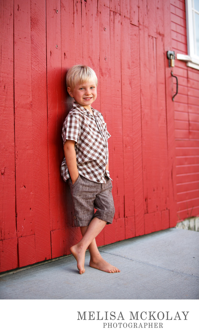 Handsome Boy | Child Photographer | Leelanau County