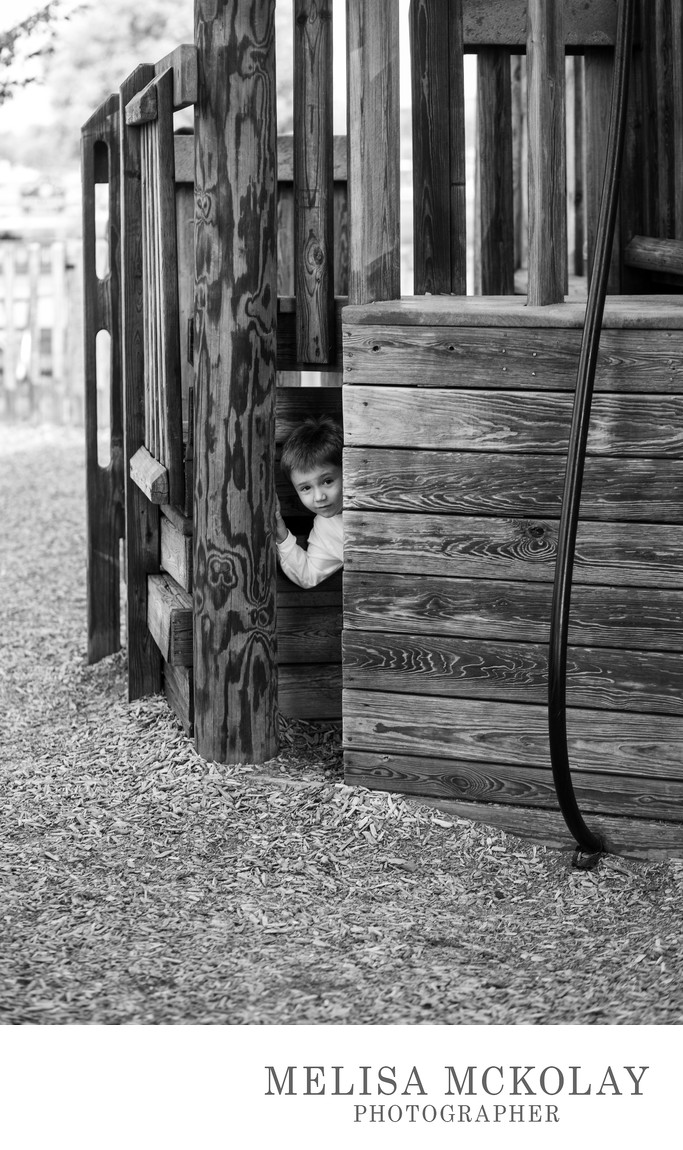 Hide & Seek | BW Kids Documentary Photography | NMi