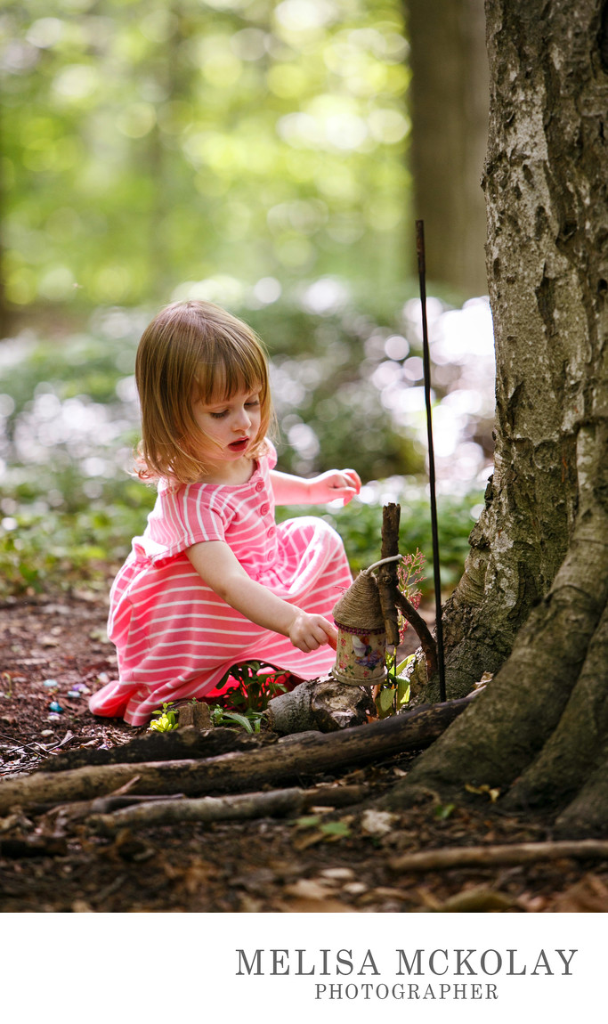 Fairy Garden | Kids Documentary Portraiture | NMi