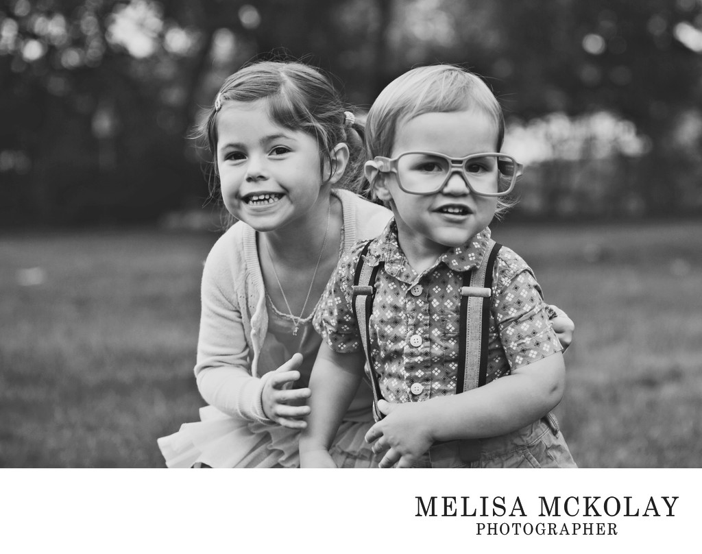 Sibling Silliness | Child Documentary Photography | TC