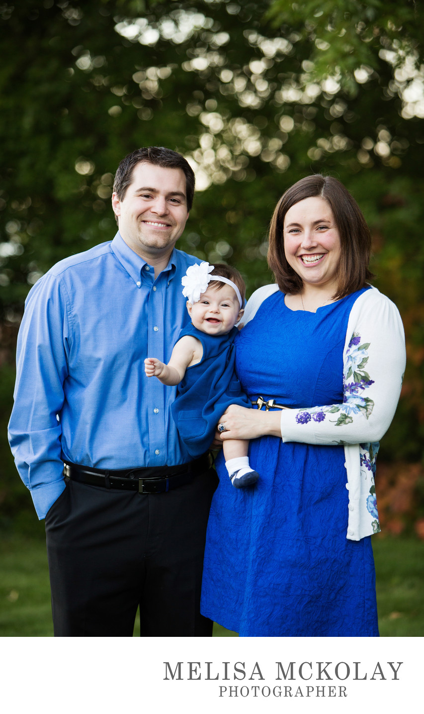 Authentic Smiles | Happy Family Portraits | TC, MI