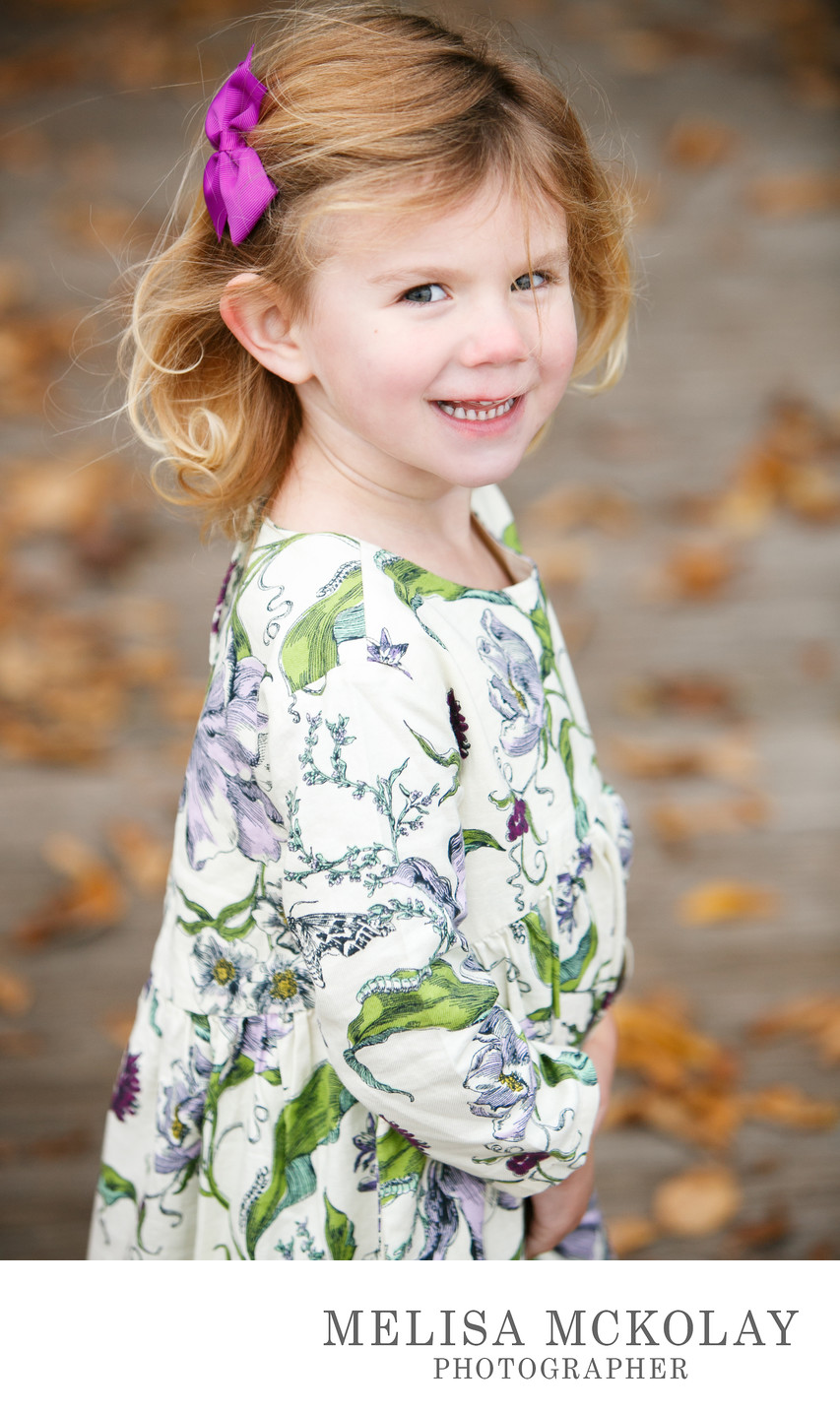 Fall Smiles | Child Portrait Photography | Northern MI
