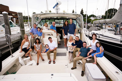 On A Boat| Family Reunion | Harbor West Yacht Club