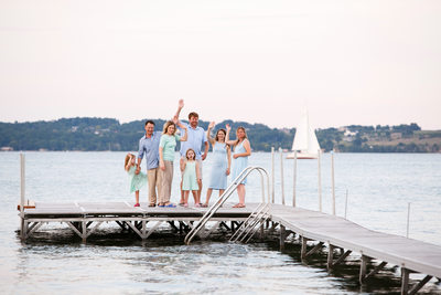Bay Life | Fun Family Portraits | West Bay, TC, Mi