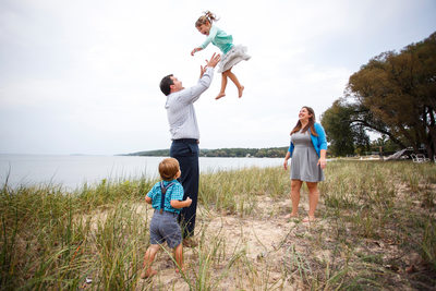 To The Moon | Family Photojournalism | Northern Mi