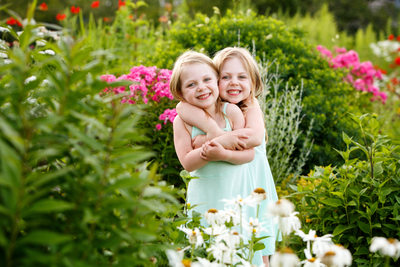 Garden Fairies | Family Vacation Portrait | Northern Mi