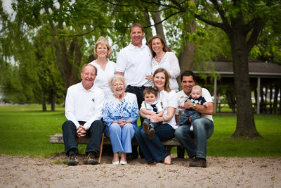 4 Generations | Family Reunion Portrait | Northern MI