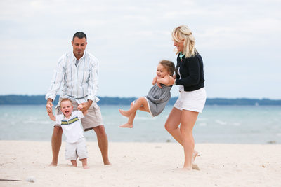 Beach Fun | Family Photojournalism | Elk Rapids, MI