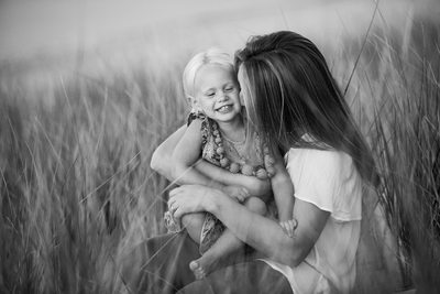 Bliss | Mother Daughter Portrait | Glen Arbor, MI