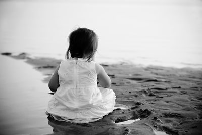 Beach Baby | Fine Art Child Photography | Northern MI