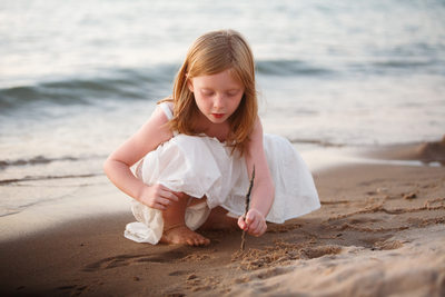 Innocence | Documentary Beach Portrait | Northern MI