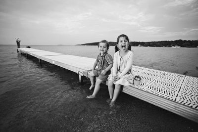 Sitting On The Dock Of The Bay | Child Portrait | TC