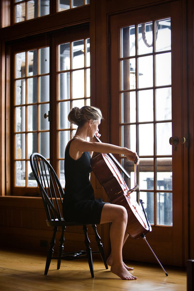 Cellist | High School Senior Musician Portrait | NMi