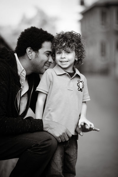 Proud Dad | Father Son Portrait | Downtown TC