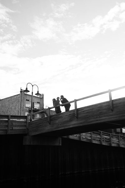 Bridges | BW Family Photojournalism | Downtown TC