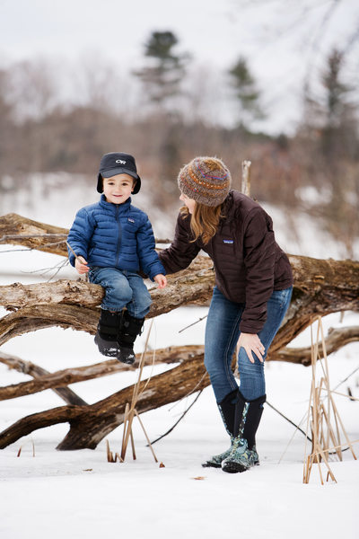 Winter Fun | Family Portraits | Northern Michigan