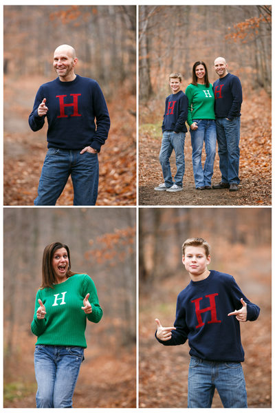 Funny Christmas Card | Family Photography | TC, MI