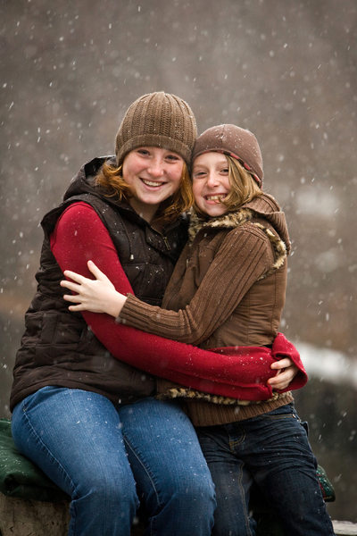 Snow Angels | Holiday Portrait | Northern Mi