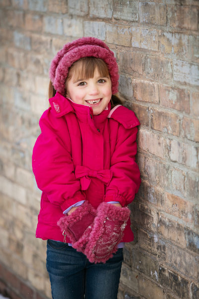 Toothless | Winter Holiday Portrait | Downtown TC