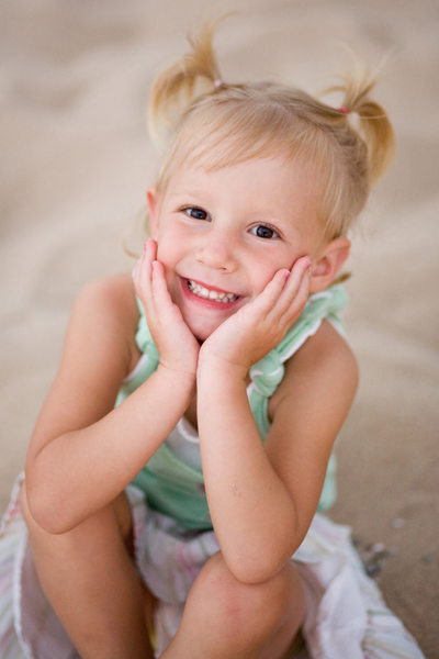 Sweet Girl | Child Beach Portrait | Leelanau County