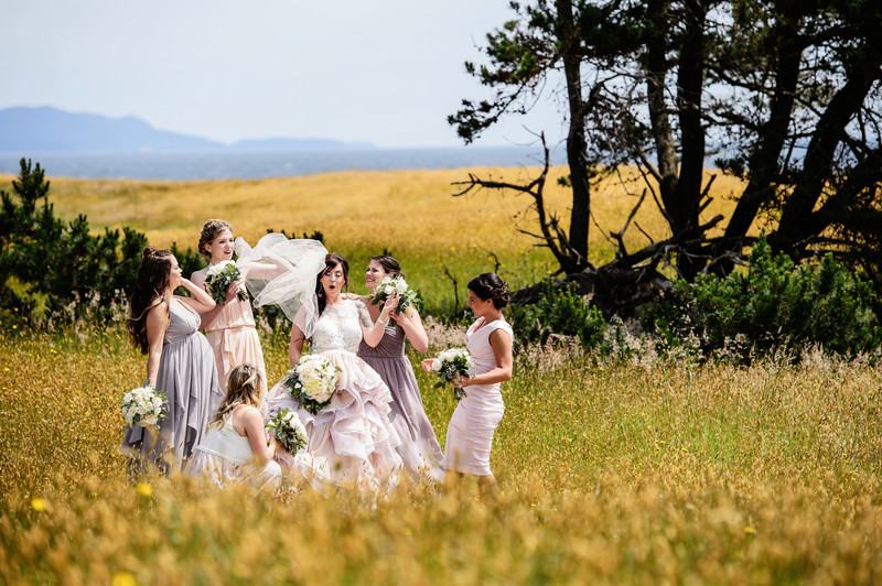 Sea Breeze Lodge Wedding on Hornby Island
