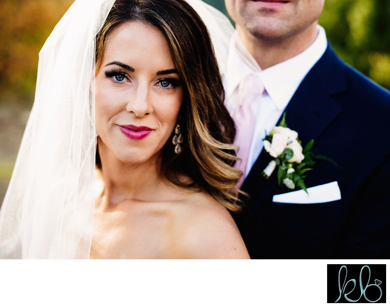 Close up Portrait of Married Couple at the Hart House