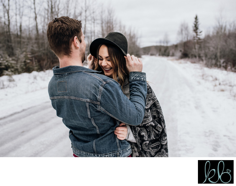 Maple Ridge Winter Couple Session