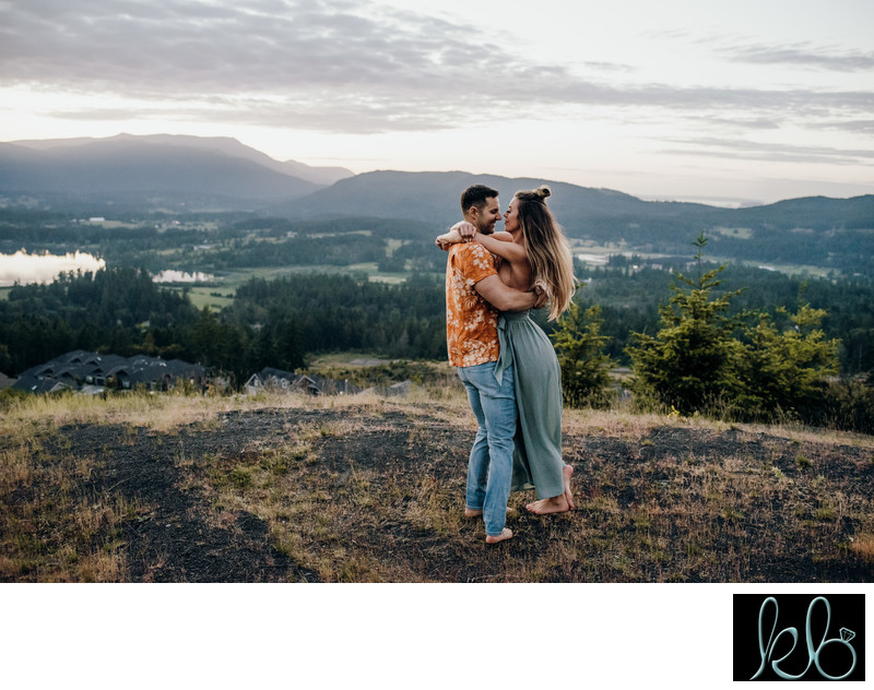 Fort Langley Engagement Photographs