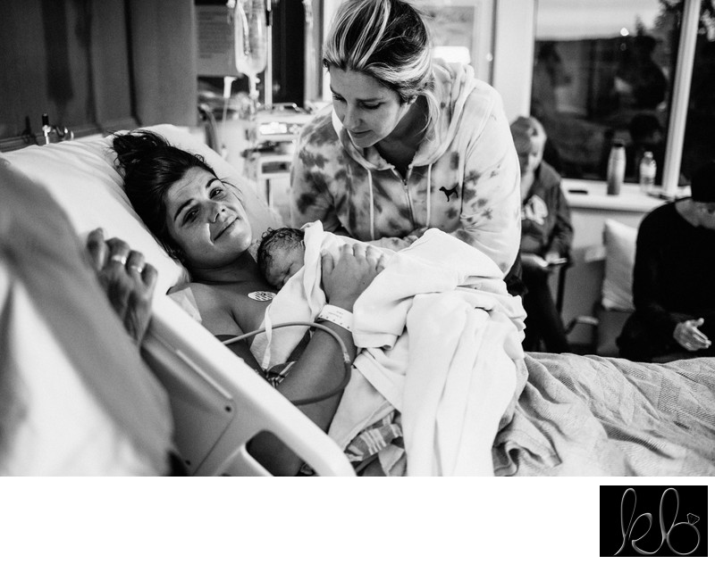 Newborn Photography at Hospital