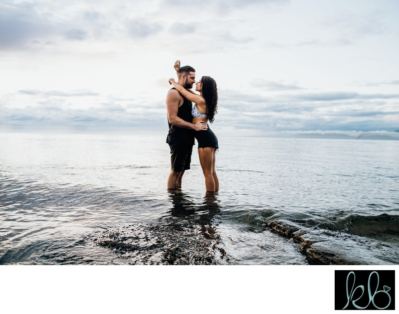 Sexy Couple Shoot in White Rock