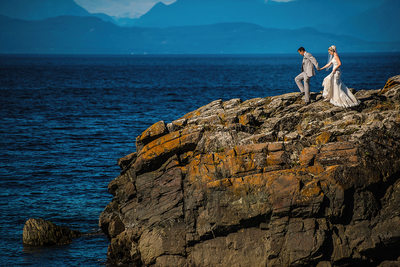 Neck Point Wedding Ceremony in Nanaimo
