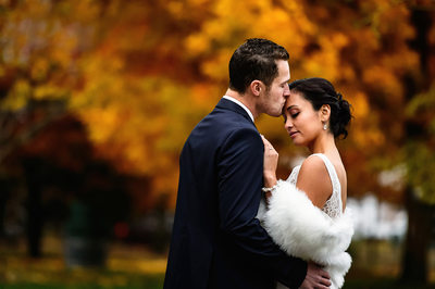 Fall Wedding Photos in Maple Ridge