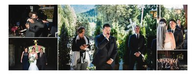 Ceremony Photos at Nita Lake Lodge in Whistler
