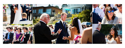 The Beach House Restaurant Wedding Ceremony
