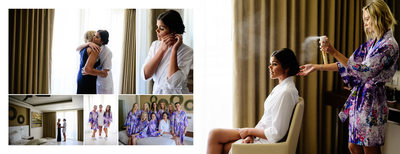 Bridal Prep at The Royalton Riviera Resort & Spa