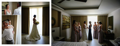 Bride Getting Ready at The Royalton Riviera Resort