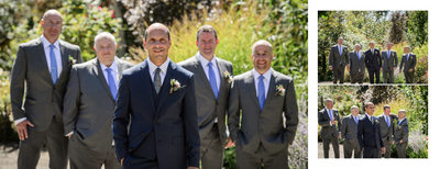 Groomsmen Photos at Government House
