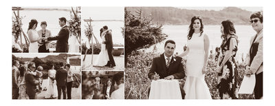 Tofino Wedding Ceremony on the Beach