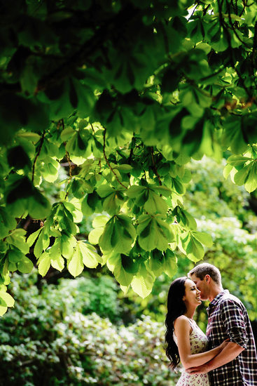 Milner Gardens Engagement Session