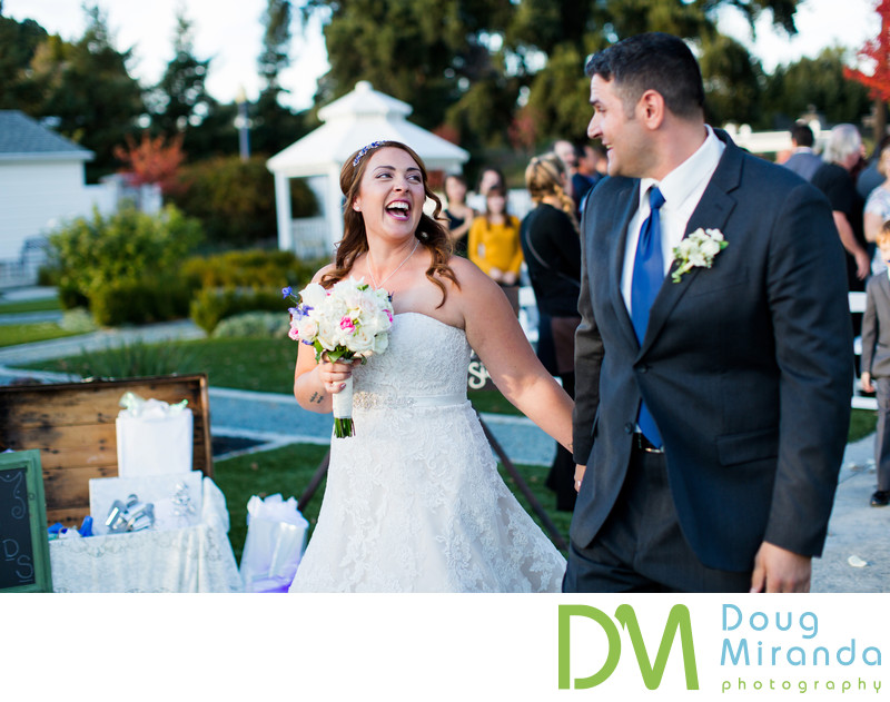 Wedding Ceremony Photos at Delta Diamond Farm