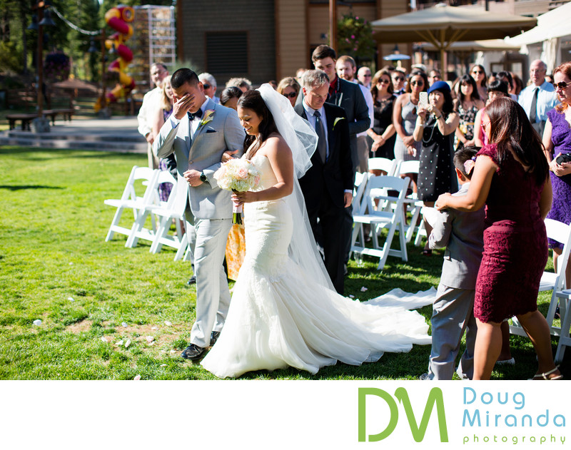 Northstar Resort Wedding Ceremony Pictures Truckee