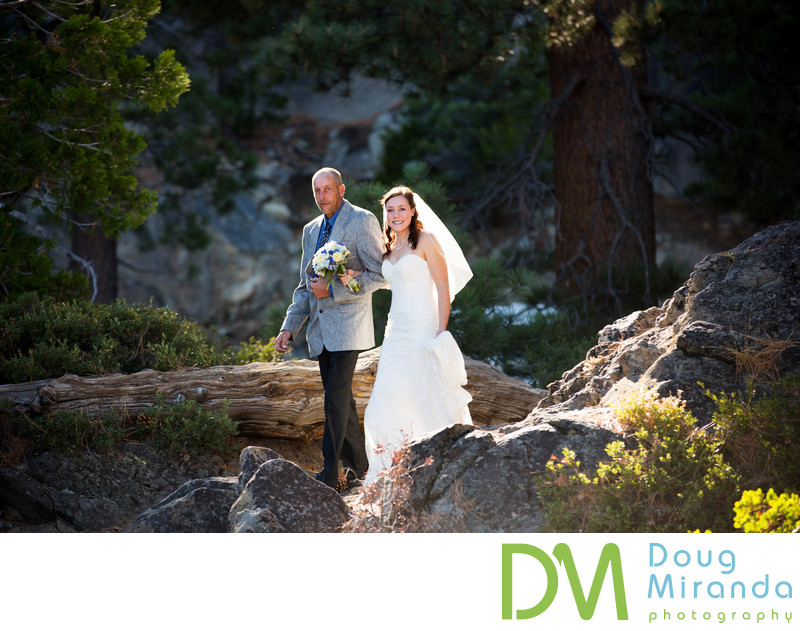 Lake Tahoe Elopement Ceremony Photography