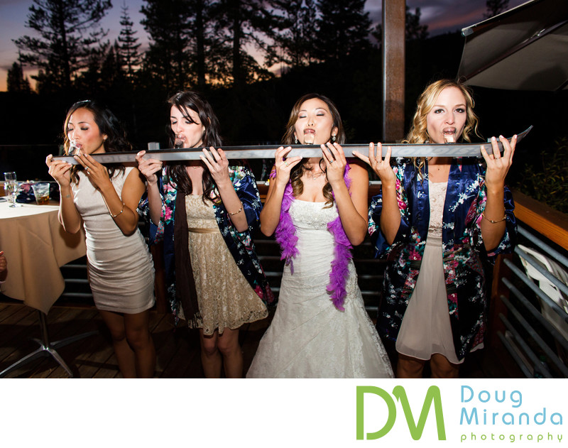 Sugar Bowl Ski Resort Wedding Reception Photos