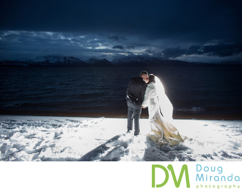 Lake Tahoe Winter Wedding Photographers