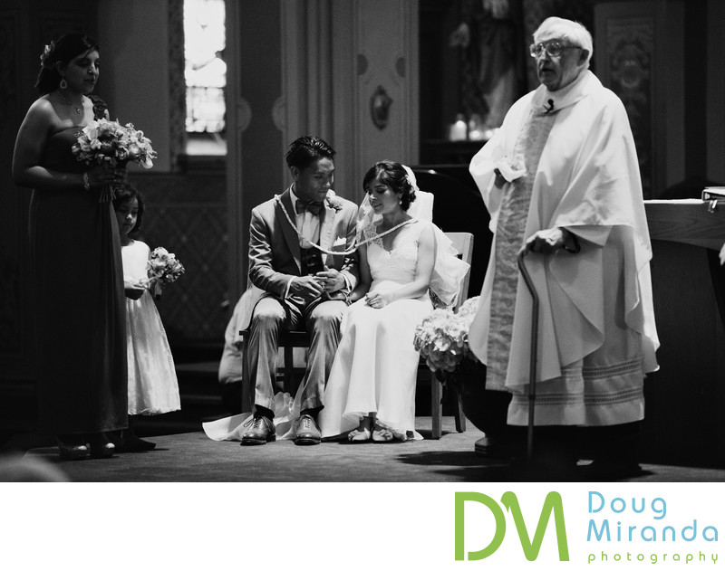 Saint Francis of Assisi Parish Wedding Sacramento pics
