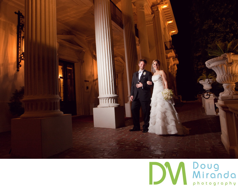 Wedding Photographer at Grand Island Mansion