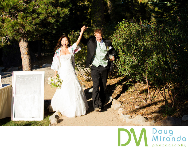Donner Pass Wedding Photographs