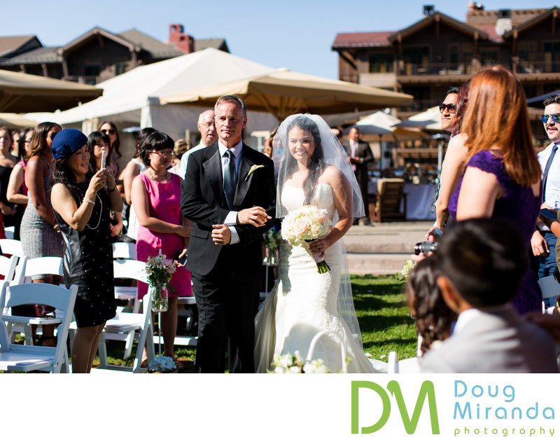 Northstar California Wedding Ceremony