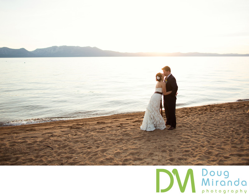 Edgewood Tahoe Beach Wedding Pictures