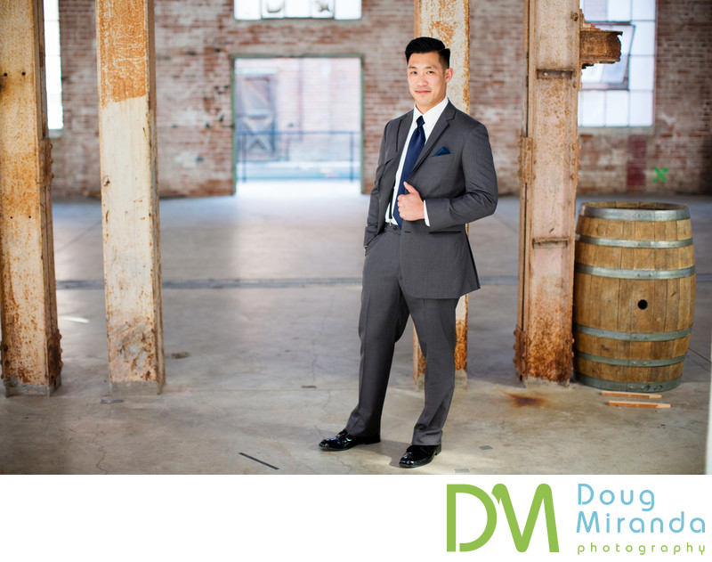 Groom Portrait Photography at Old Sugar Mill